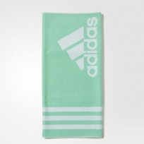 Полотенце Adidas Large Color Green Glow/White
