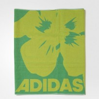 Полотенце Adidas Beach II Color Solar Lime S16 / Semi Solar Yellow