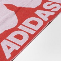 Полотенце Adidas Graphic Beach Color Shock Red/White