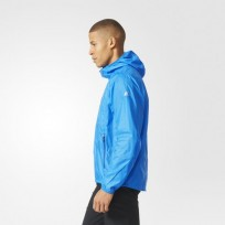 Ветровка мужская  Adidas All Outdoor Mistral Color Blue