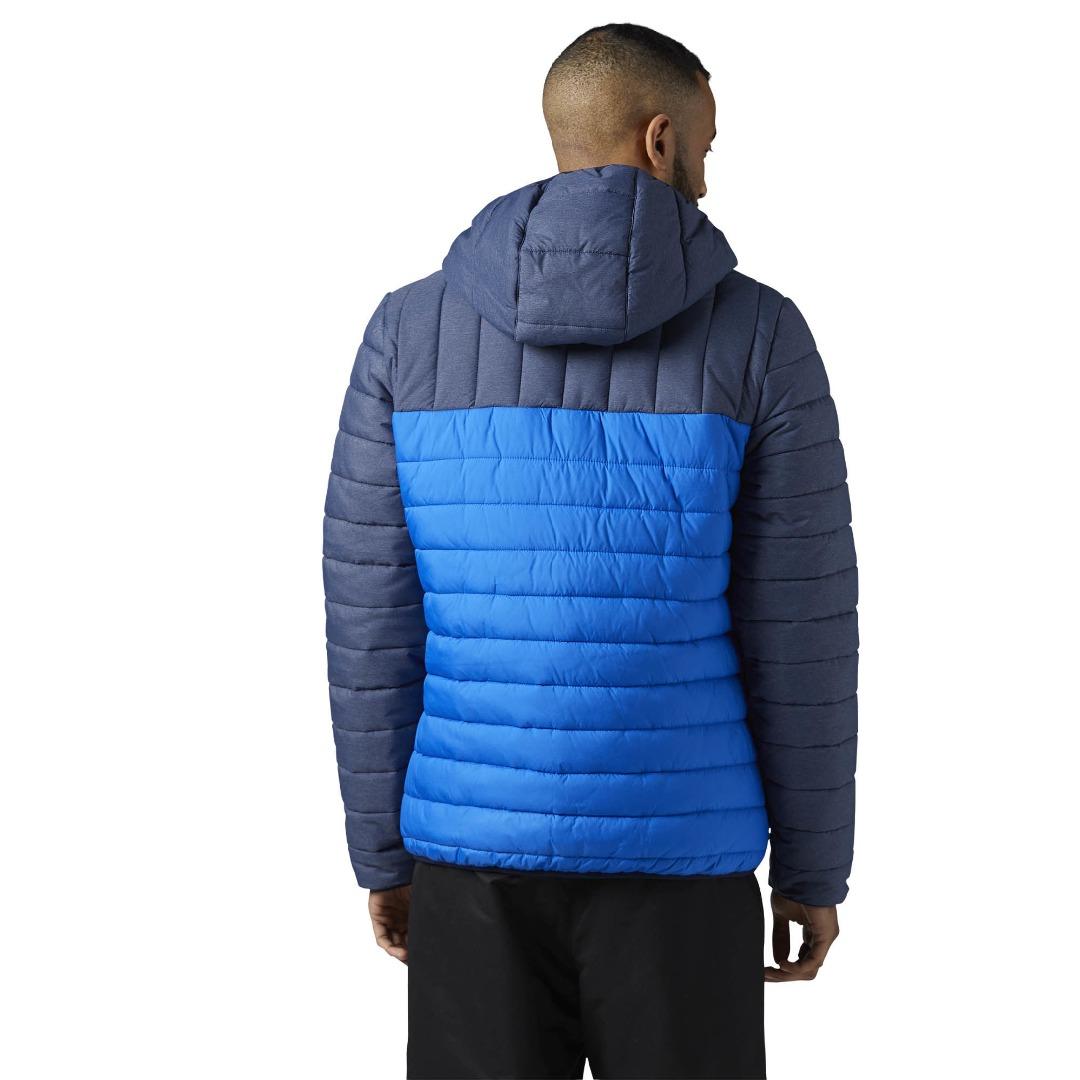 69709df6abe1 Утепленная стеганая куртка мужская Reebok Outdoor (aртикул  S96417 ...