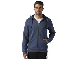 Худи мужская Reebok ELEMENTS FLEECE FULL ZIP HOODIE