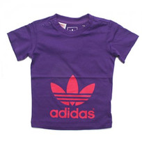 Футболка Adidas Infant Girls Trefoil Tee Shirt