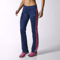 Брюки женские Adidas GYM BASIC 3 STRIPES STRAIGHT PANT