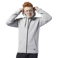 Худи Reebok Workout Ready Full-Zip Fleece